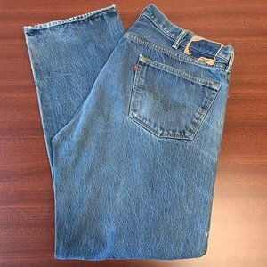 Vintage 501 Men's Levi's High Waisted Mom Jeans